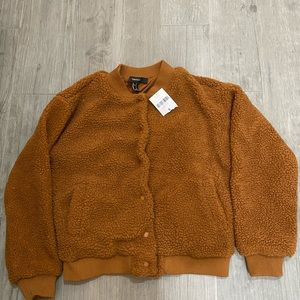 Forever 21 Teddy a Bear Jacket